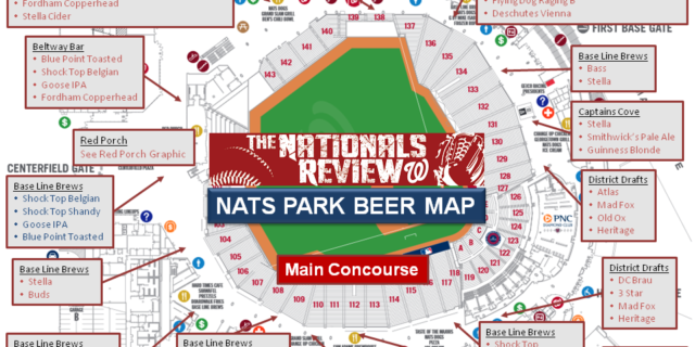 Beer Map 4-2016 Main Concourse