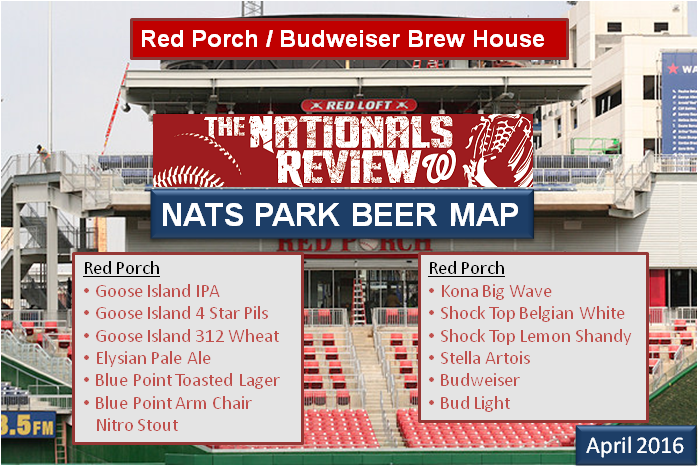Beer Map 4-2016 Red Porch - Bud Brew