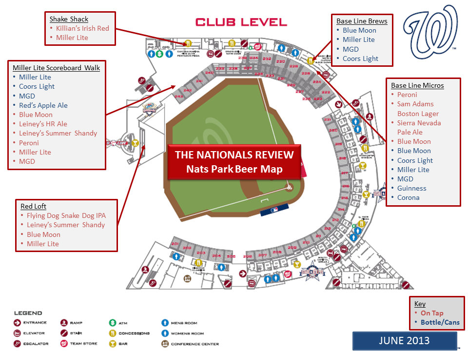 Club Level Map 6-4-2013