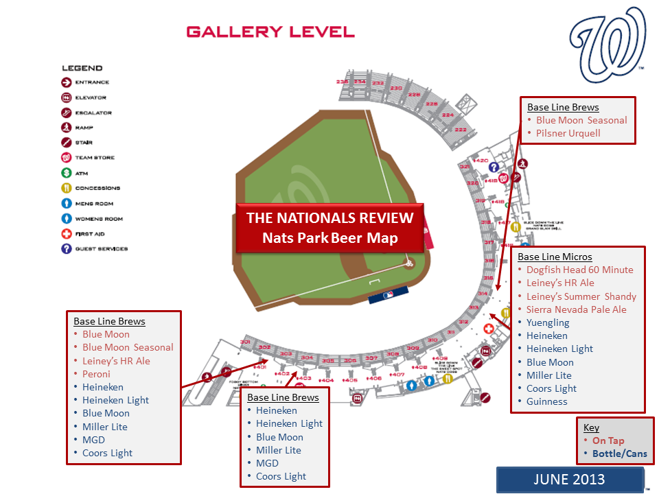 Gallery Level Map 6-4-2013