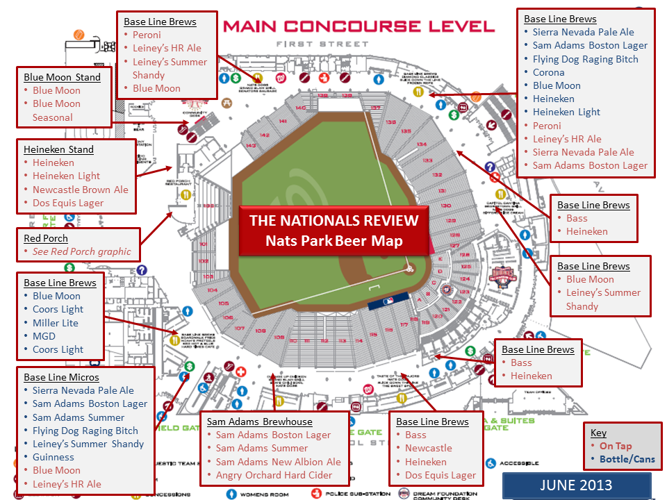Main Concourse Map 6-4-2013