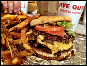 Five Guys did what?