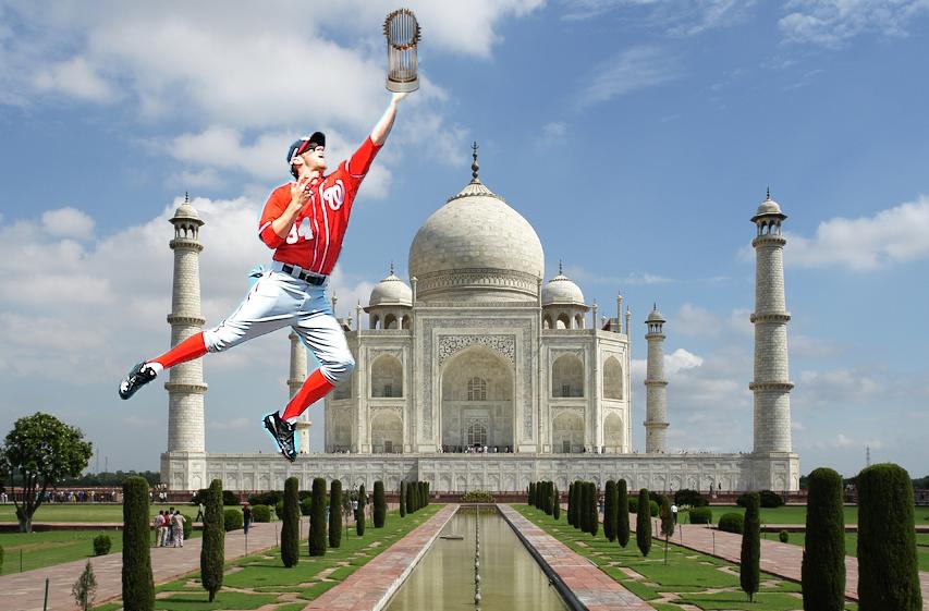 Harper Monuments Taj Mahal
